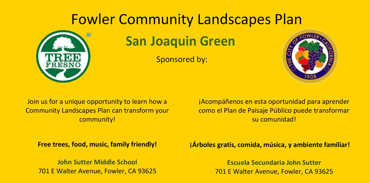 Fowler Community Landscapes Plan